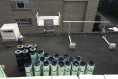 start werk plat dak