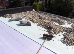 Isolatie omgekeerd dak