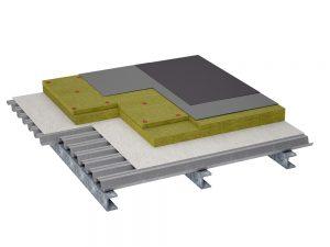 Opbouw isolatie plat dak